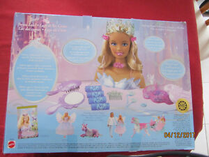 Barbie Swan Lake Styling Head with 30+ Hair Accessories