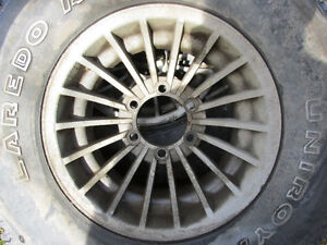 Old 15'' Chevy/GMC Truck Rims