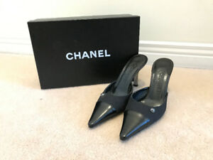 Chanel Thongs Slip On Heels