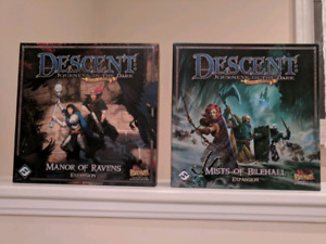 Descent Board Game Expansions