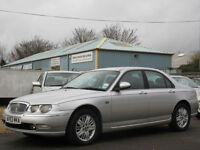 2003/53 ROVER 75 1.8 CLUB SE AUTOMATIC - ONLY 47000 MILES FROM NEW !!