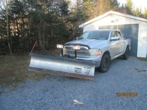 Dodge Ram 1500 With Snowdog plow