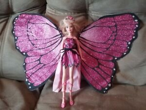 Fairy Barbie doll with sparkly wings