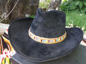Native beaded hat band.