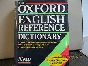 THE  OXFORD ENGLISH REFERENCE DICTIONARY Oakville / Halton Region Toronto (GTA) image 1