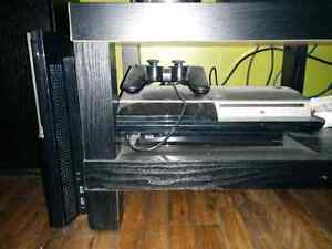 PS3 with 11 games and parts console