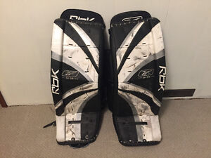 rbk goal pads,chest protector