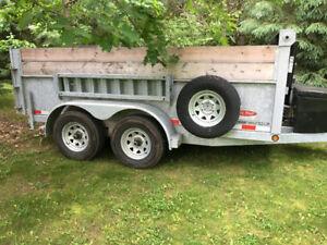TRAILERS FOR RENT - dump - enclosed - landscape - car hauler -