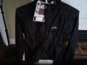LADIES CYCLING JACKET ( XS ) BLACK