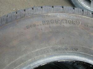 5 sets of tires for sale