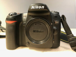 Nikon D80 with 18-135mm Nikkor lens