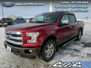 2015 Ford F-150 Lariat  - Local - Trade-in - Leather Seats