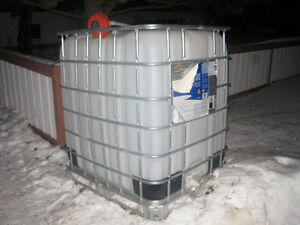 300 U.S. Gallon water tank