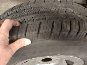 Winter Lt 245/75R16 tires and rims