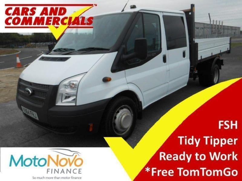 c552810c650d0a 2014 64 FORD TRANSIT TIPPER DOUBLE CAB 350 LWB 1-WAY 1-STOP 125PS DIESEL