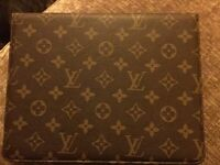 Chanel but is Louis Vuitton iPad cover
