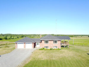 101 ACRES OF BLISS - WITH LOVELY RAISED BUNGALOW BUILT IN 2010