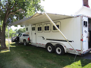 3 - HORSE TRAILER, excellent condition, safetied