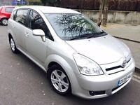 2006 TOYOTA COROLLA VERSO 1.8 T3 AUTOMATIC 7 SEATER 1 OWNER 65K MILEAGE