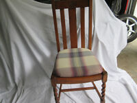 Antique Chairs- Set of Four
