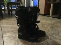 Size 10 Thor Motorcycle Ratchet Boots