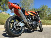 MOTO SUZUKI GS750 STREET FIGHTER (PIMPER)1200CC