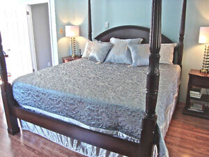 King Size Quilted Comforter Set