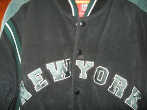 New York Jets Suede Jacket