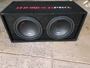 """Mtx 12"""" thunderpro 2s with amp"""