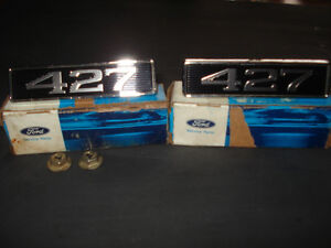 ~ 427 FORD - RARE EMBLEMS- OBSOLETE ~