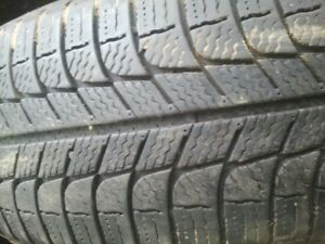 "Pair of 205/65/15"" Michelin X-Ice tires"