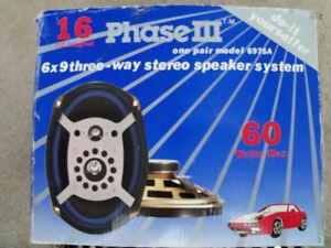 2 / 16 OZ magnetic speakers; Best Offer