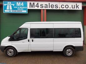 Ford Transit 135ps,14st minibus Very low Miles