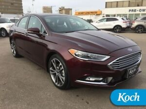 2017 Ford Fusion   Nav, Heat/Cool Seats, Moonroof, Sony Audio