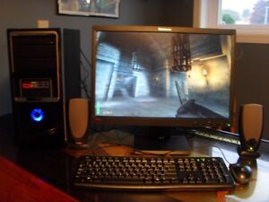 """ASUS M3N78-VM (MB) with HDMI-OUT Complete system! 22"""" Monitor"""