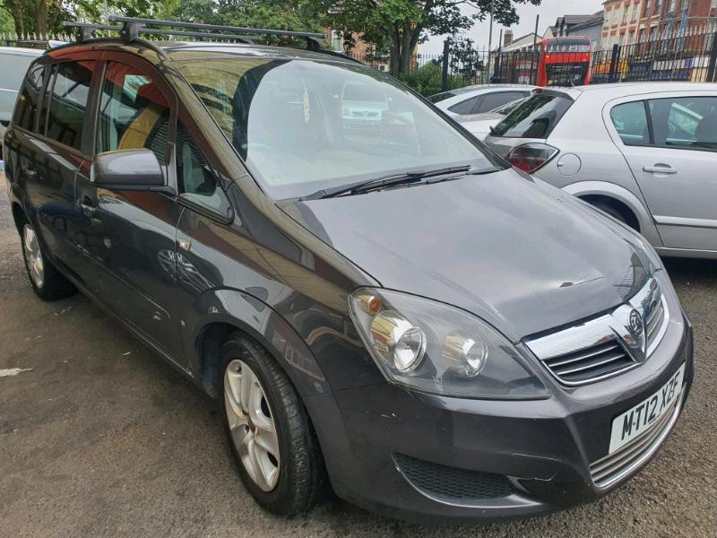 Vauxhall Zafira 1.6 petrol  12mot Icars L7 0LD