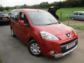 2012 PEUGEOT PARTNER TEPEE S HDI WHEELCHAIR ACCESS VEHICLE . MPV DIESEL