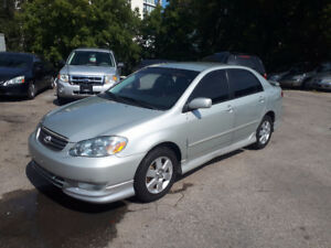 2003 Toyota Corolla Sport Sedan SOLD!!