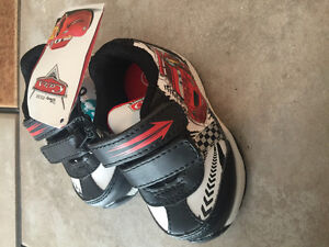 Size 3T Disney Cars shoes new with tags