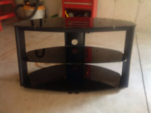 Tinted Glass entertainment stand