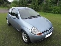 2007 '57' FORD KA 1.3 ZETEC CLIMATE 3 DOOR HATCH IN MET SKY BLUE ONLY 29,000