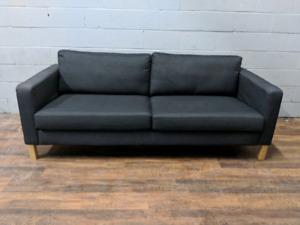 Ikea Karlstad sofa in dark grey. FREE DELIVERY