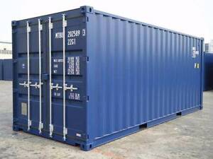 New Build 20' GP (8'6) Shipping Containers for just 3100 EX GST. Ballarat Central Ballarat City Preview