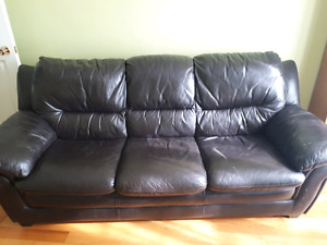 Leather couch reduced to 50