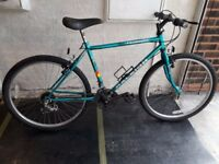 Raleigh Ascender Mountain Bike. 18 speed. 26 inch wheels (Suit: 16 yrs to Adult).