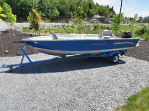 Princecraft boat, motor and trailer