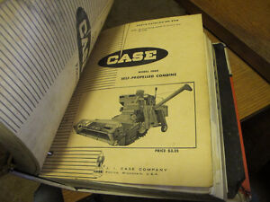 Case 1010, 1060, 1660 Combine Parts Manuals Regina Regina Area image 3