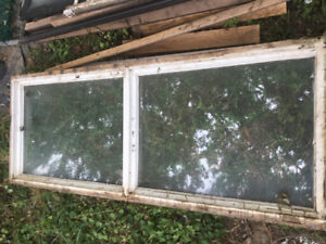 Windows for shed or horse barn