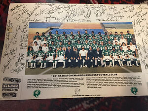 SIGNED 1981 ROUGHRIDER PHOTO