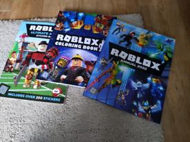 3Roblox Books Sticker Colouring Annual